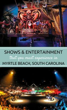 Myrtle Beach theaters are the perfect complement to a wonderful beach vacation!  Check out some of the different live theater and entertainment options that you must experience in Myrtle Beach, South Carolina.