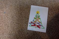 its an christmas card try it by  using small tape and a printer smooth card board paper .      Sorry zoom in by your self