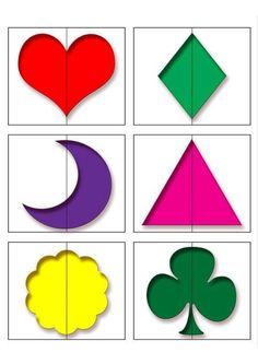Risultati immagini per draaischijf thema kleuren Symmetry Activities, Preschool Learning Activities, Color Activities, Infant Activities, Kids Learning, Free Alphabet Printables, Preschool Printables, Preschool Puzzles, Preschool Worksheets
