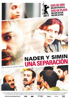 Nader y Simin, una separación [Vídeo] / una película de Asghar Farhadi. -  Barcelona : Cameo Media, 2011
