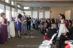 Wedding Venues, Altar, Heatherwoode Golf Club, Ceremony, Childers Photography