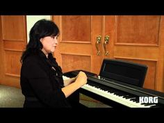 Korg SP170S Digital Piano -- A Piano Teacher's Perspective - YouTube
