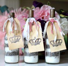 lavender bath salts a repurpose, bathroom ideas, repurposing upcycling, seasonal holiday decor, valentines day ideas