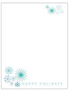 Free christmas letter templates zima pinterest christmas free christmas letter templates see more holiday brevpapper mallar spiritdancerdesigns Gallery