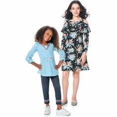 Girls 4-16 Branded and Active Separates, Sets, Sleepwear, Tops, Jeans and Dresses by