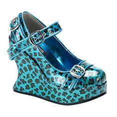 Bravo 10 Turquoise Cheetah
