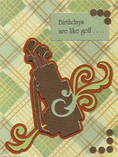 Birthdays are like golf . . .