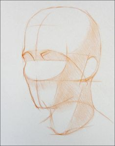 How to Draw a Portrait in Three Quarter View, Part 5