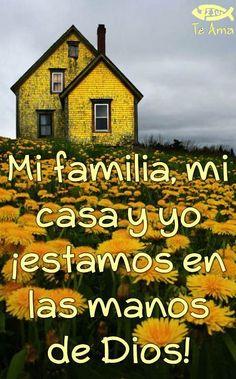 Toda mi vida está en las manos de Dios! facebook.com/jesusteamamgaministries