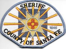 Santa Fe County Sheriff, NM shoulder police patch