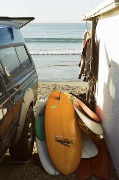 Surfboards, Baja.  Photo by Foster Huntington  |   https://www.facebook.com/arestlesstransplant
