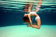 underwater yoga by Britta Trubridge
