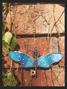 Harry Potter Third Chamber Stained Glass Winged Skeleton Key Sun Catcher