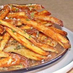 Baked Garlic Fries