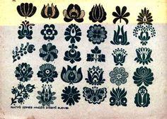 traditional hungarian patterns - matyó