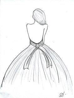Easy dress design sketches inspirational pin by sarah toole on elly s board in 2019 gallery Girl Drawing Sketches, Dress Design Sketches, Girly Drawings, Cool Art Drawings, Fashion Design Drawings, Pencil Art Drawings, Beautiful Drawings, Fashion Sketches, Easy Drawings