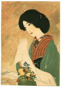 Kiyokata Kaburagi (1878-1972) Japanese Artist