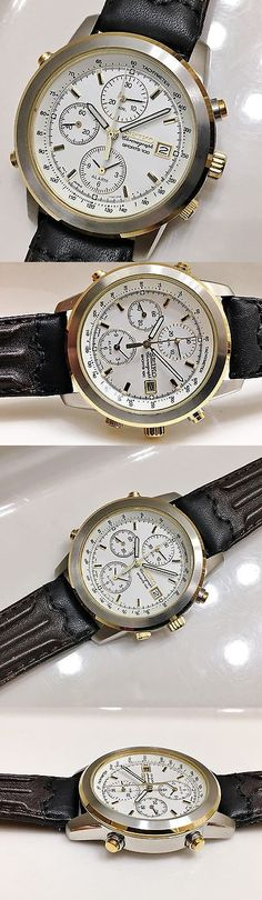 Other Watches 166739: New Mens Seiko Sdwb86 Retro Non-Working Sample Alarm Chronograph 7T32-7D89 BUY IT NOW ONLY: $45.0