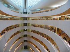 Bibliothek des Rechtswissenschaftlichen Instituts in Zurich - 1 of 8 amazing libraries featured by Spot Cool Stuff