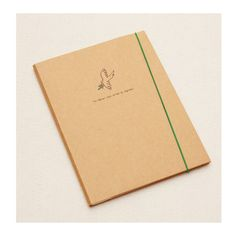 Flying Bird Kraft Paper Cover Notebooks with Sleeves A5 Nature Series Notebooks Sketchbook