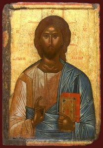 Detailed view: Christ Pantocrator- exhibited at the Temple Gallery, specialists in Russian icons Byzantine Icons, Byzantine Art, Religious Icons, Religious Art, Orthodox Catholic, Catholic Art, Christ Pantocrator, African Origins, Black Jesus