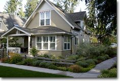 Madrona: House plan for a 3 bedroom with great windows. Lots of closets Has a study attached to the master bedroom. 1550 sq. ft.