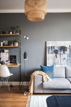 Die 26 besten Bilder von Wandfarbe Grau   Wandfarbe grau ...