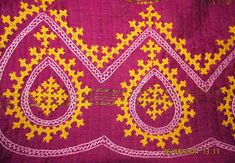 My craft works: Kutch Work Saree - Ta da Aari Embroidery, Hand Work Embroidery, Indian Embroidery, Hand Embroidery Designs, Embroidery Patterns, Kutch Work Saree, Work Sarees, Kutch Work Designs, Herringbone Stitch
