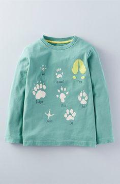 Mini Boden Graphic Long Sleeve T-Shirt (Toddler Boys, Little Boys & Big Boys)