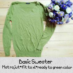 Basic sweater idr 90   Wa 085728818810 Line imahaha