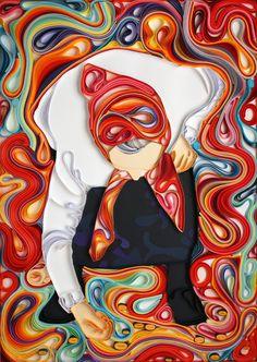 Quilled Paper Art by Yulia Brodskaya