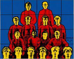 Martin Clunes/Gilbert and George/World John Minton, Gilbert & George, Martin Clunes, George Martin, David Hockney, All Art, Contemporary Art, Sculptures, My Arts