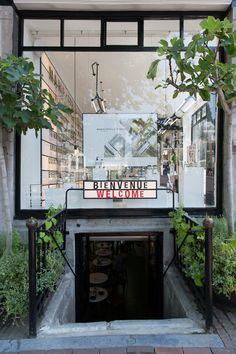 marie stella maris flagship boutique and café // amsterdam