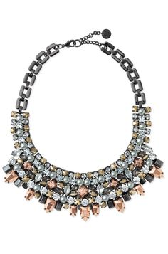 I love the subtle color of this gorgeous bib necklace from Stella & Dot
