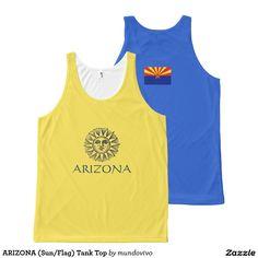 ARIZONA (Sun/Flag) Tank Top