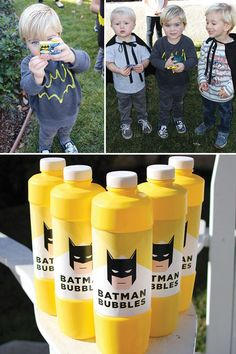 Modern Batman Birthday Party {with DIY Gotham City!} // Hostess with the Mostess - Batman Party - Ideas of Batman Party - Modern Batman Birthday Party {with DIY Gotham City!} // Hostess with the Mostess Lego Batman Party, Batman Party Favors, Lego Batman Birthday, Superhero Birthday Party, 6th Birthday Parties, Birthday Fun, Batgirl Party, Batman Games, Birthday Ideas