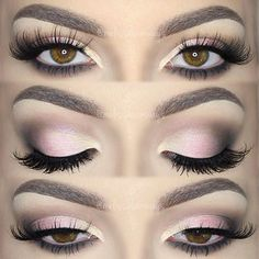 Soft Pink Glam Holiday Smokey Eyes by MUA Melissa Samways (*Click pic 4 Deets*)