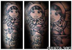 kata-puupponen-forssa-tatuointi-tattoo-maatuska-matryoshka-babushka.jpg 669×469 pikseliä