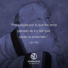Lao Tse: Piensan de ti Smart Quotes, Funny Quotes, Life Quotes, Buda Quotes, Wisdom Of The Day, Tao Te Ching, Spiritus, Meditation Quotes, Life Philosophy