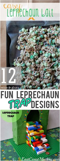 12 Fun Leprechaun Trap Designs - My List of Lists Halloween Crafts, Holiday Crafts, Holiday Fun, Holiday Ideas, Holiday Decor, St Pattys, St Patricks Day, Diy For Kids, Crafts For Kids