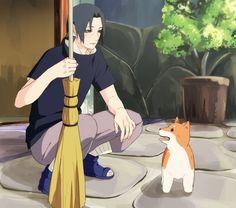 Itachi and shiro... So adorable:3