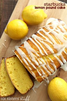Starbucks Copycat Lemon Pound Cake – Six Sisters' Stuff