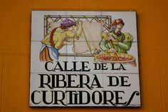 Calle De La Ribera De Curtidores (Madrid)