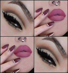Absolutely stunning makeup look