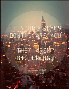 Scary dreams
