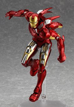 figma Iron Man Mark VII: Full Spec ver. (ふぃぐま あいあんまん・まーく7 ふるすぺっくver.) Price ¥8,800 Release Date 2014/08