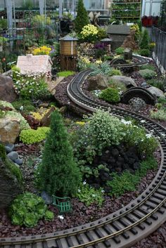 See this train chug through the miniature garden at our Fair Oaks store!