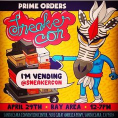 dbf024ef54a SneakerCon Bay Area. Come check us out today starting at 12PM! Will have  over