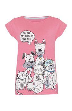 Primark - Camisola de pijama animal de estimação