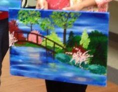Vino van Gogh project: Bridge into Spring, 05/30/13